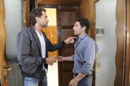 Sergio Muniz e Fabrizio Bucci nel Film La finestra di Alice